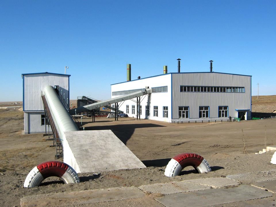 蒙古国Talstkhairkhan Co.,Ltd褐煤干燥项目